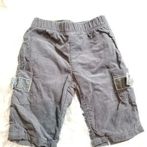 Cherokee baby girls pants Sz 3m gray